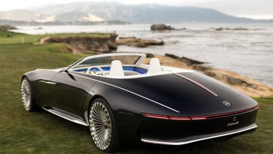 Photo of Head Turning Car: Vision Mercedes-Maybach 6 Cabriolet