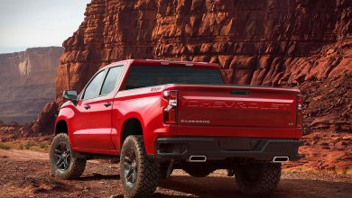 Photo of The new Chevrolet Silverado is not small
