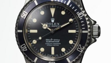 Photo of Steve McQueen's Rolex Submariner