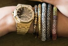 Photo of Audemars Piguet Royal Oak Frosted Gold Carolina Bucci – Artisan's Namesake watch