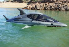 "Photo of The Seabreacher submarine ""Fighter Jet"" is the best way to spend £71,000"