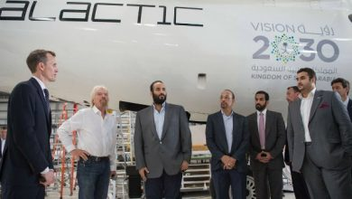 Photo of Saudi crown prince visits Branson's Virgin Galactic, introduced to hyperloop