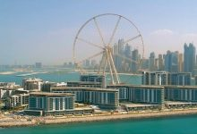Photo of Dubai's Bluewaters island with world's largest observation wheel opens