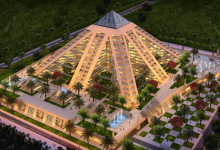 Photo of Dubai's Falcon City of Wonders signs deal with Oakwood to manage pyramid hotels