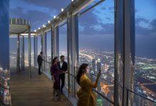 Photo of Dubai's Burj Khalifa unveils new dining lounge on 154th floor