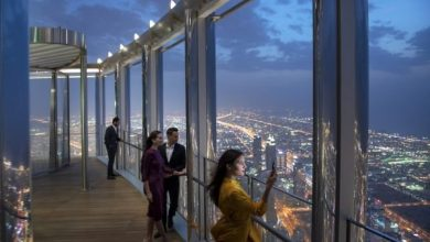 Photo of Dubai's Burj Khalifa unveils new dining lounge on 154th floor