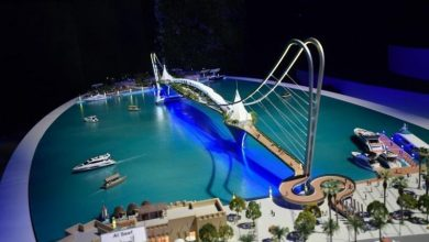 Photo of Dubai's ruler approves new 'iconic' bridge over Creek, major bicycle project