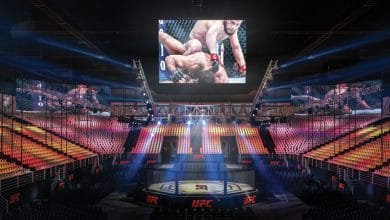 Photo of Here's what the purpose-built UFC 242 arena in Abu Dhabi will look like…